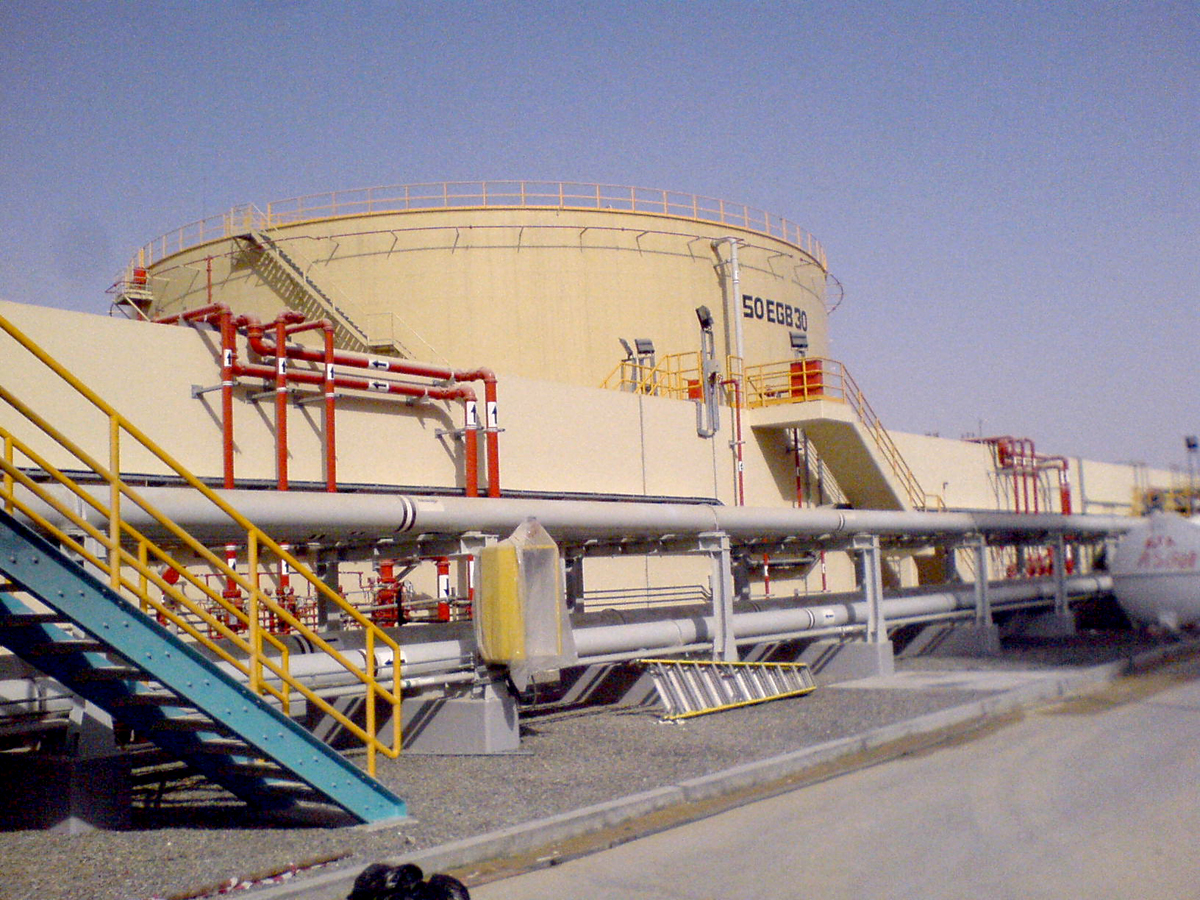 Fuel Oil Storage Tank Protection