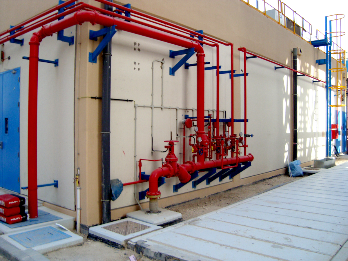 Fire Protection System Manifold